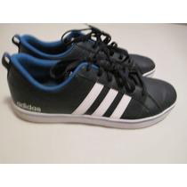 Zapatillas Adidas Neo Azul Y Blancas Talle 12 Us