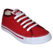 Zapatillas Pony Soho Rojo Py770008