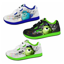 Zapatillas Disney Monster University Con Luces Mundo Manias
