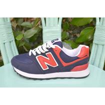 New Balance Nacionales Azules Con Rojo Nuevas