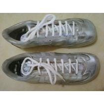 Zapatillas Número 38, Plateadas, Finísimas !!!