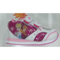 Zapatillas Addnice Frozen Con Luces