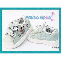 Zapatillas Mickey Y Minnie Bebe, De Jean!