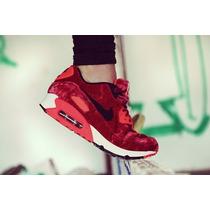 Nike Air Max 90 Anniversary Red Velvet Stock Real Originales
