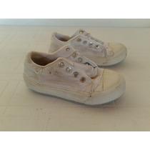 Zapatillas Blancas Lona Toot Talle 29