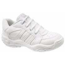 Zapatillas Escolares Con Cordón Plumitas Del 27 Al 33 *2072