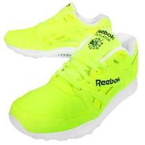 Zapatillas Reebok Hexalite Talle Us 9 Amarillo Flúo. Unicas!