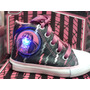 Zapatillas Botitas Con Luces. Monster High Y Barbie
