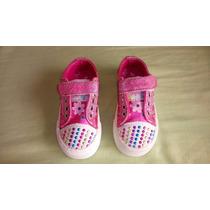 Zapatillas Disney Original Con Luces Talle 22