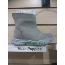 Botitas Para Niños Hush Puppies Donky - Negro O Beige