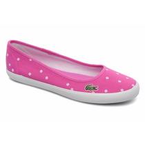 Zapatillas Ballerinas Mujer Lacoste Marthe Tbl/ Brand
