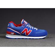 Zapatillas New Balance 574 Azul Francia!