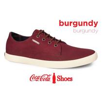 Zapatillas Coca-cola Shoes Guinter Sportline Burgundy 43