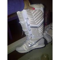Zapatillas Nke Botas Altas Blancas Mujer Talle 40, 26 Cm
