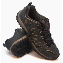 Zapatillas Olympikus Modelo Outdoor Land Color Negro