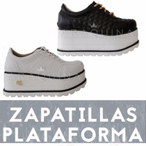 Zapatillas Plataformas Mujer - Zapatos Altos Moda - Araquina