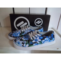 Zapatillas Nite Hawaii Lona Y Descarne Skaters