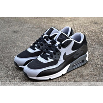 Nike Air Max 90 Black Wolf Grey Anthracite