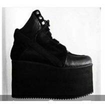 Sneakers Botitas Zapatillas Altas Con Plataforma. Importadas