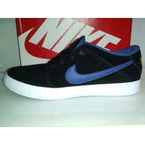 Nike Suketo Low Suede Zapatillas Urbanas Negras Pana