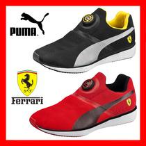 Envío Gratis! Zapatillas Puma Disc Sf Ferrari Sin Cordones