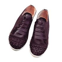 Clippate Zapatillas Zapatos Urbanas Cuero Con Tachas Mujer