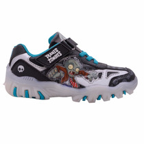 Zapatillas Plantas Vs Zombies Con Luces Y Media De Regalo