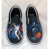 Zapatillas Vans Classic Slipon Star Wars Nuevas Sin Uso