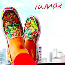 Zapatillas De Mujer Panchas Iumai - Diseños Exclusivos