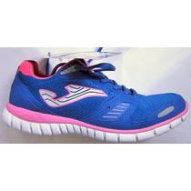 Zapatillas Joma Mujer Casual Gym Caminata Tela Olimpico Mpag