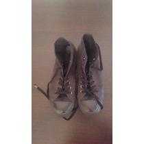 Zapatillas Botas Converse All Start Lona. Talle 40,5