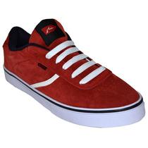 Zapatillas Rusty Asil Rojo Hombre Skate Rz000508