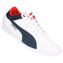 Zapatillas Puma Bmw Ms Chrono Delta (blanco+azul) Mpi H