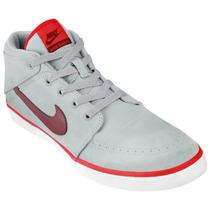 Zapatillas Nike Suketo Mid Canvas (gris+bordeaux)