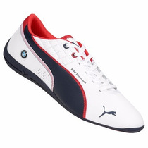 Zapatillas Puma Bmw Ms Drift Cat 6 (blanco+azul) Mpi H