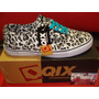 Zapatilla Qix Mod: Venice Leopardo Skate **zona Munro*