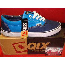 Zapatilla Qix Mod:san Francisco Navy Royal Skate Zona Munro