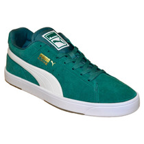 Zapatillas Puma Suede S Posy Green White 35641404