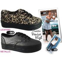 Zapatillas Qix Mod. Venice High Leopard Munro