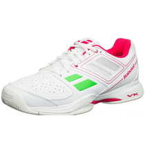 Zapatillas De Tenis Babolat Mujer Pulsion Bpm Blanco Rosa