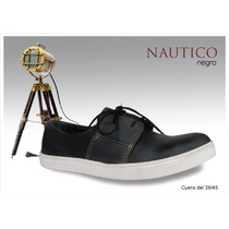 Zapatillas Nauticas 100% Cuero