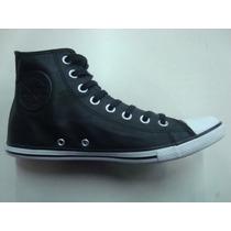 Zapatillas Converse All Star Chuck Taylor Hi Leather Black
