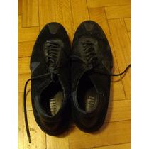 Zapatillas De Hombre. De Vestir. Negras. De Calidad. Mancini