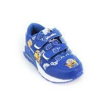 Zapatillas Disney Addnice Minions Velcro Con Luz