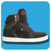 Zapatillas Krial Primus Negro 8001 Skate Hombre Mujer
