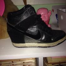 Zapatillas Nike Con Taco Talle 36 Únicasunicas