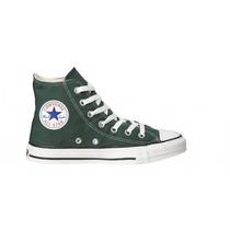 Zapatilla Converse All Star Hi Green 115122b