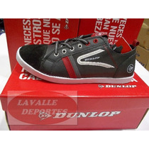 Zapatillas Dunlop Cuero Dont Worry Hombre Original