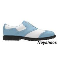 Calzado De Golf Cuero Natural- Zapatos De Golf Cuero