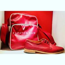 Zapatos Artesanal De Cuero